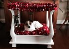coffee table dog bed 21