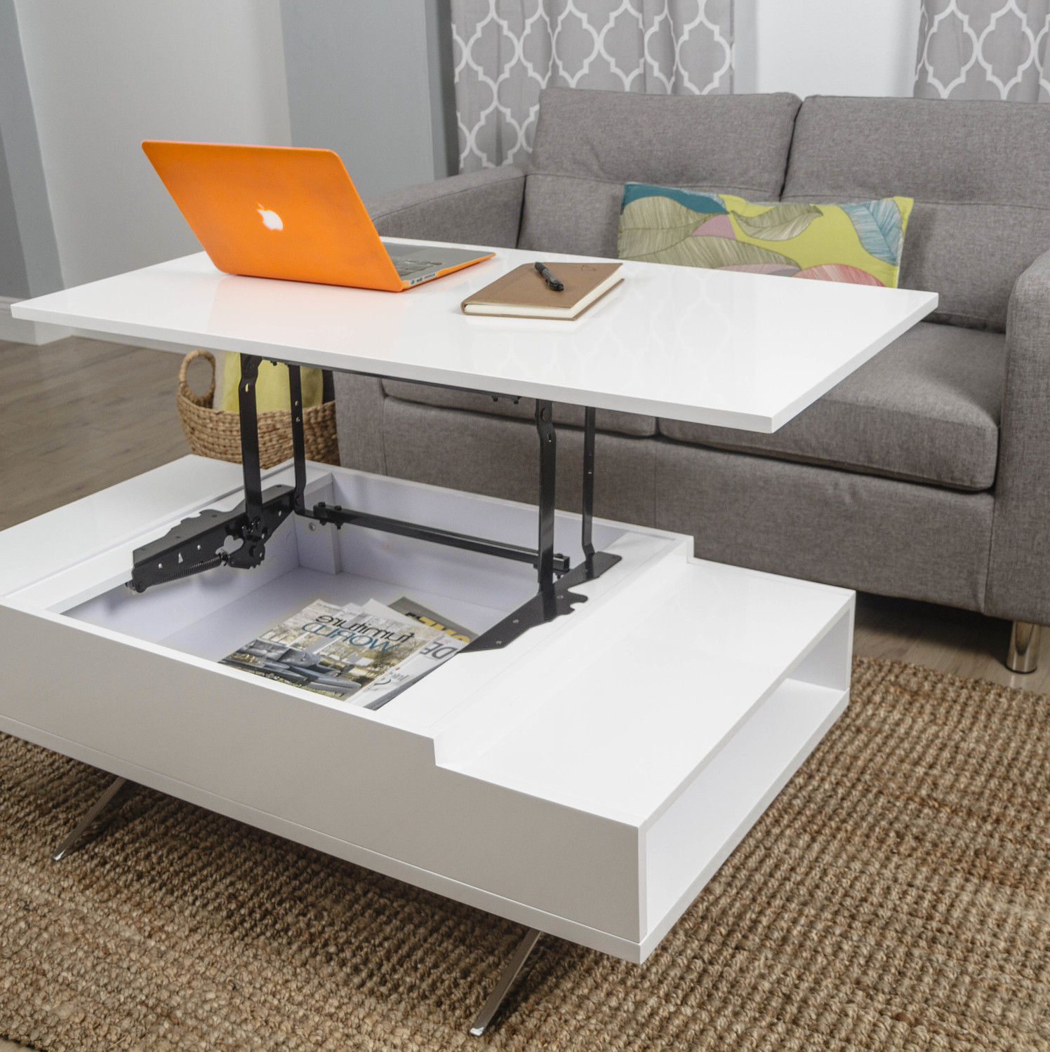 coffee tables that lift up 10