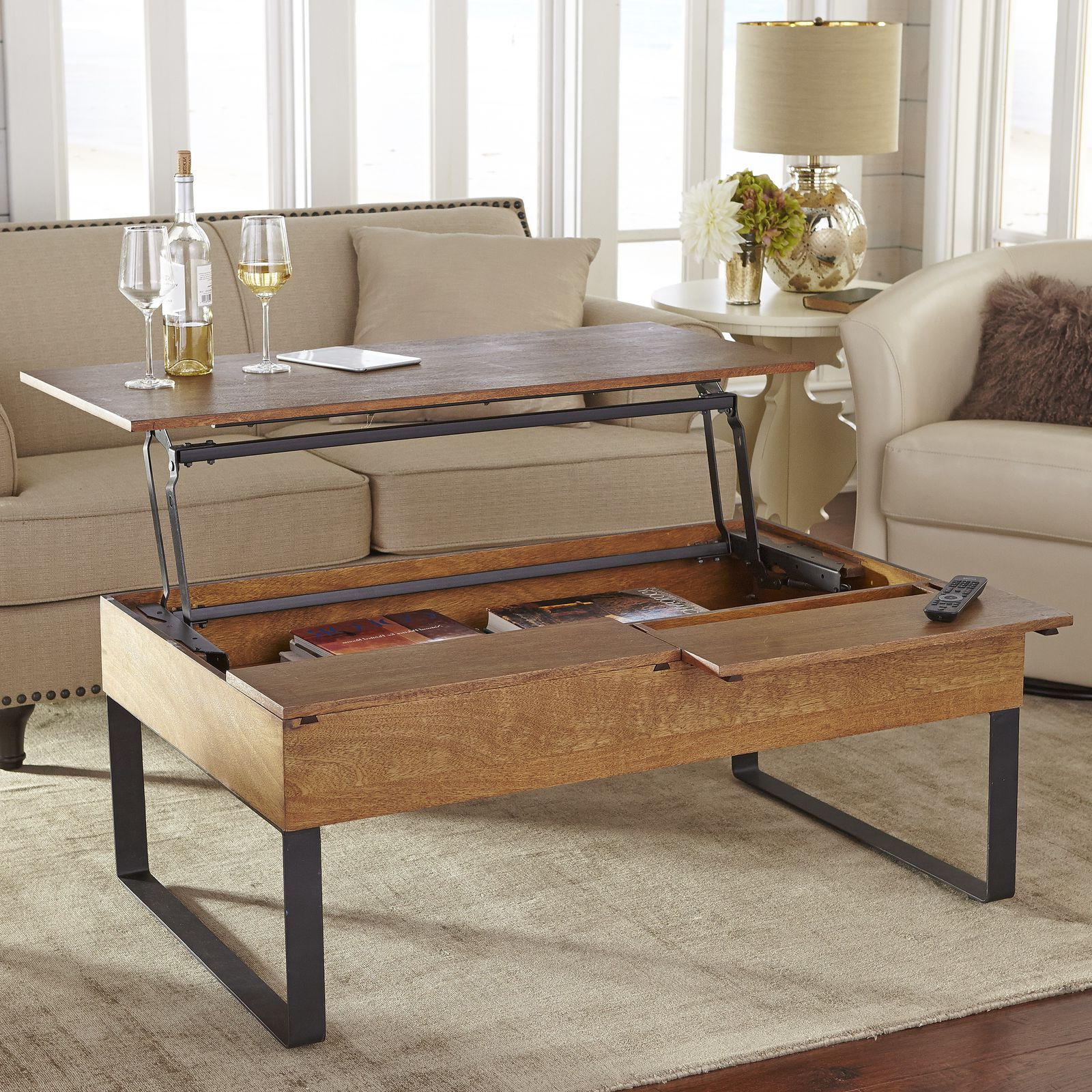 coffee tables that lift up 26
