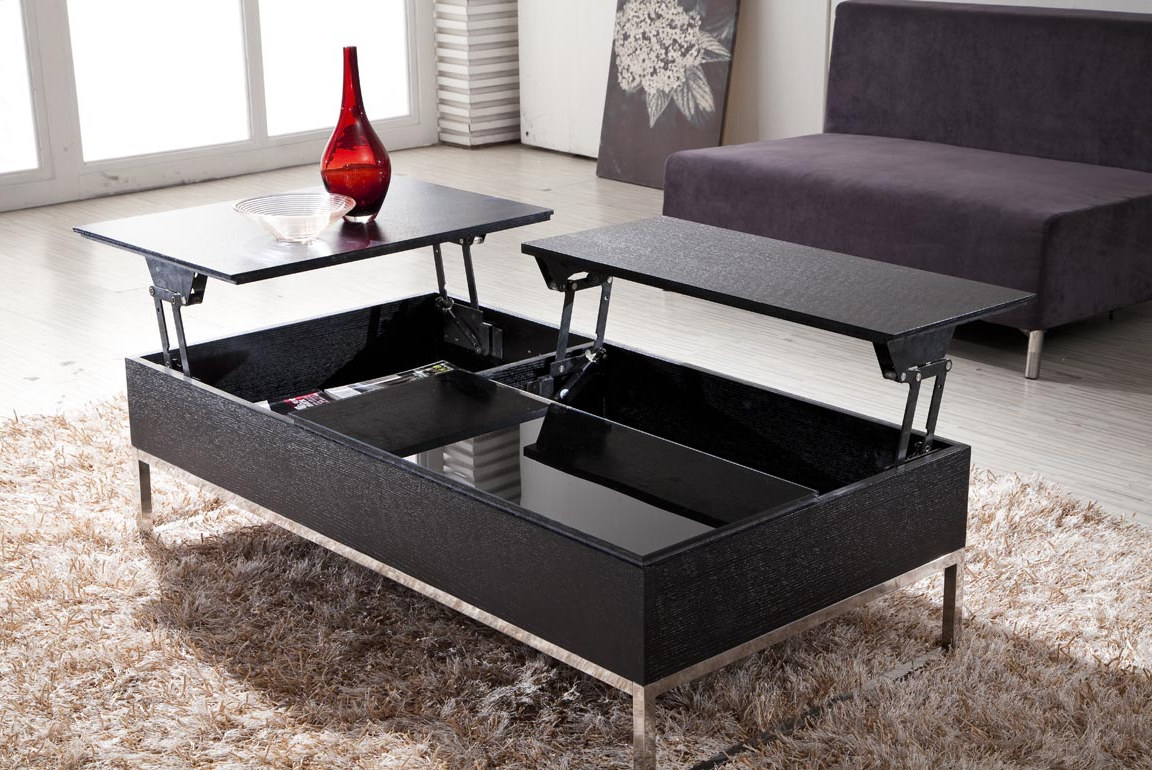 Double Lift Top Coffee Table Roy Home Design - Double lift top cocktail table