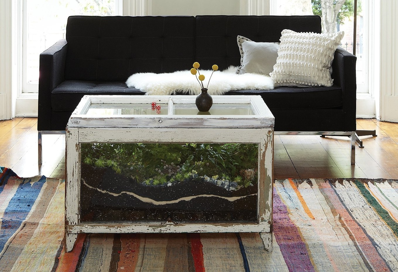 fish tank coffee table for sale 01