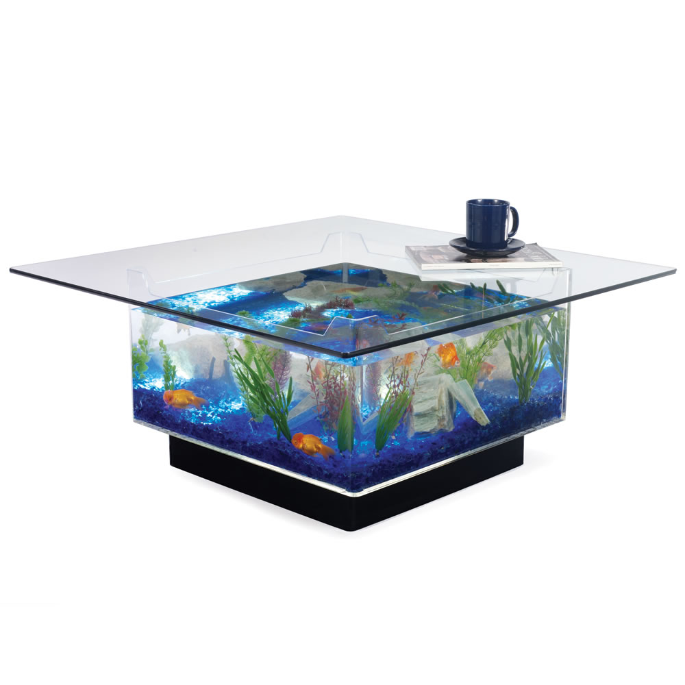 fish tank coffee table for sale 10