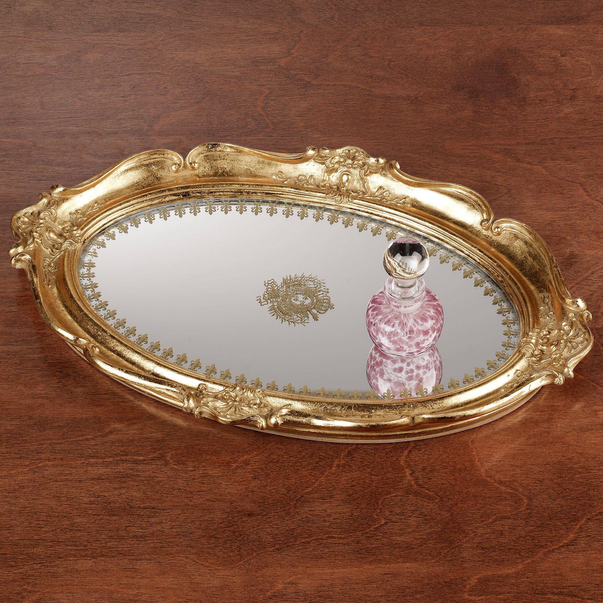 gold coffee table tray 15