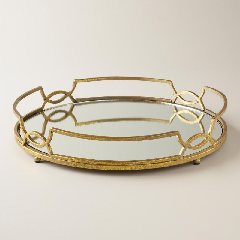 gold coffee table tray 21