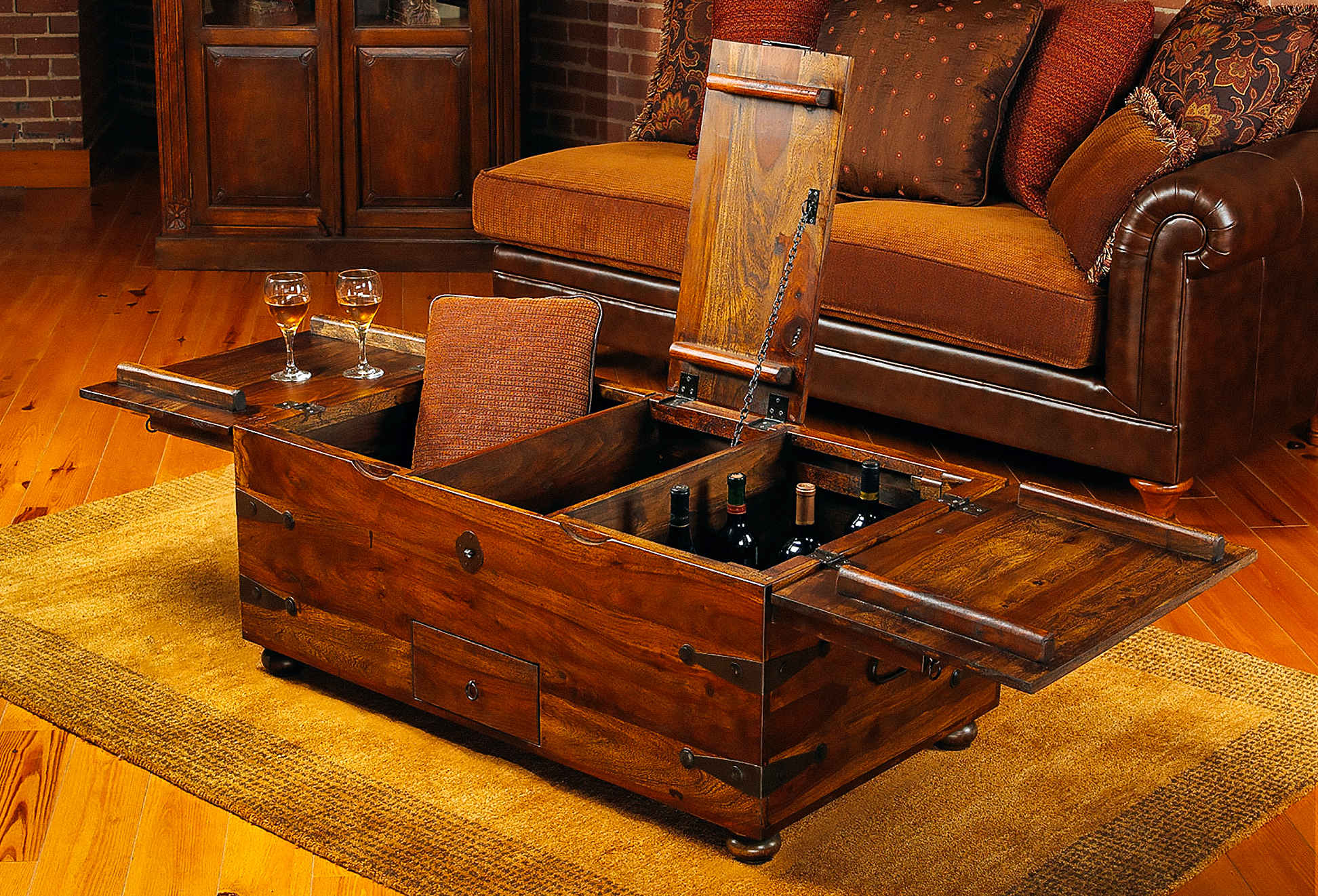 hidden compartment coffee table 09