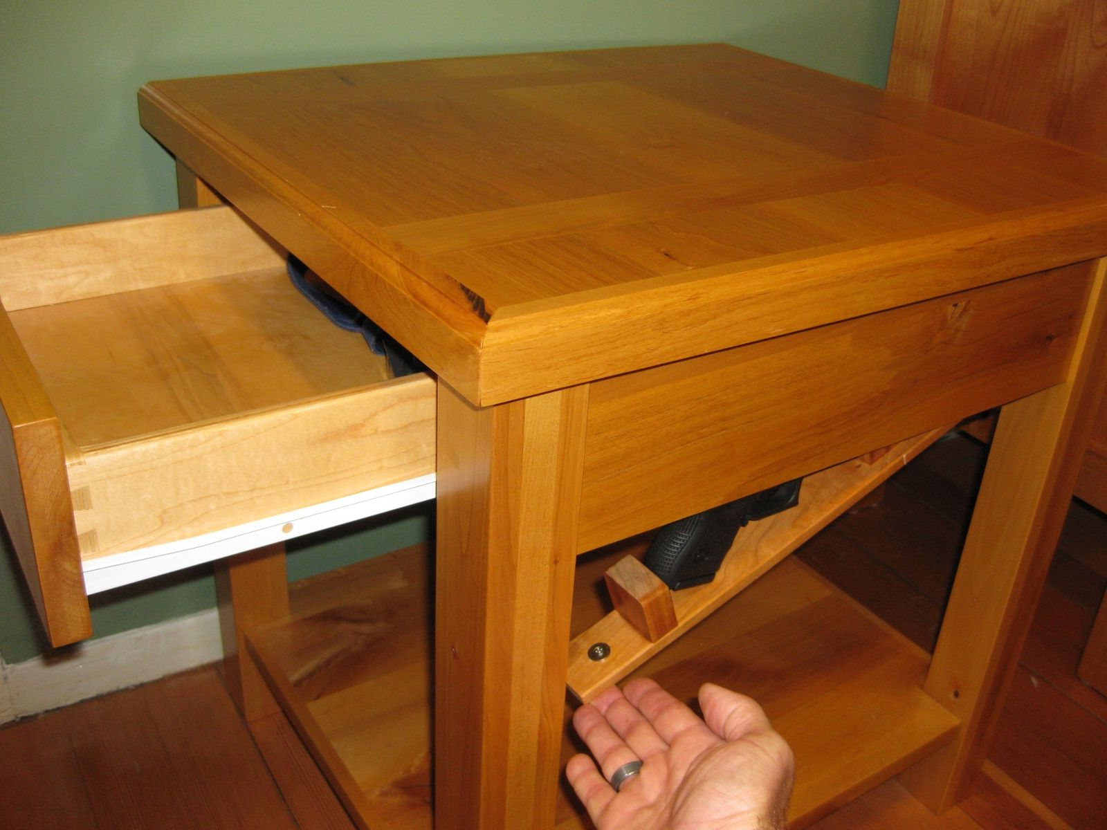 hidden compartment coffee table 12