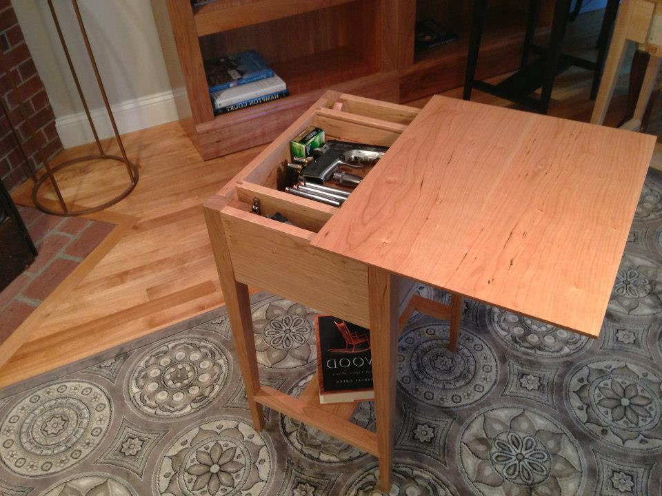 hidden compartment coffee table 18
