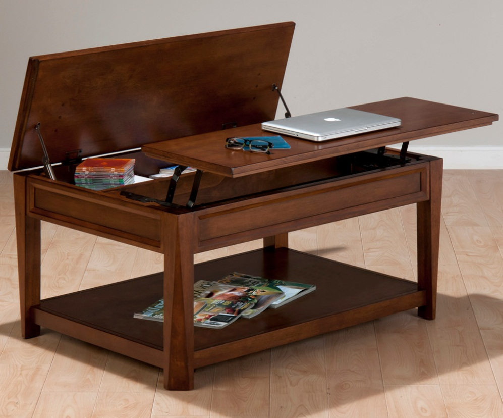hidden compartment coffee table 19