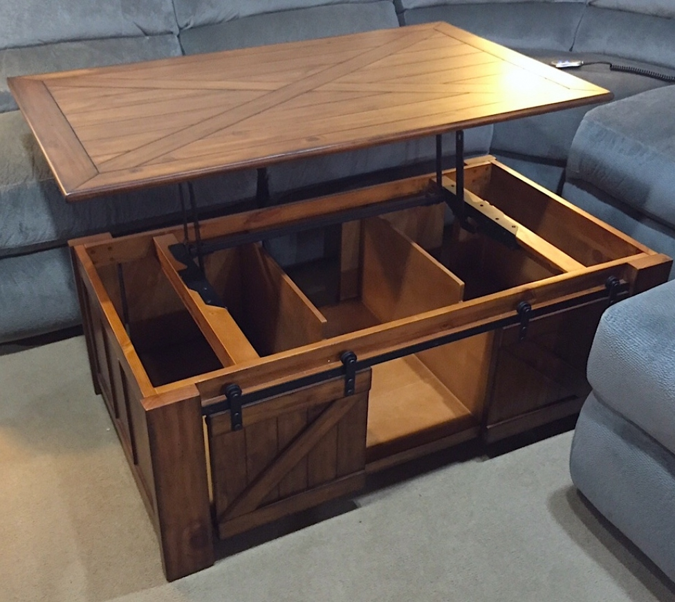 Lift Table Coffee Table: Lift Top Coffee Tables With Storage