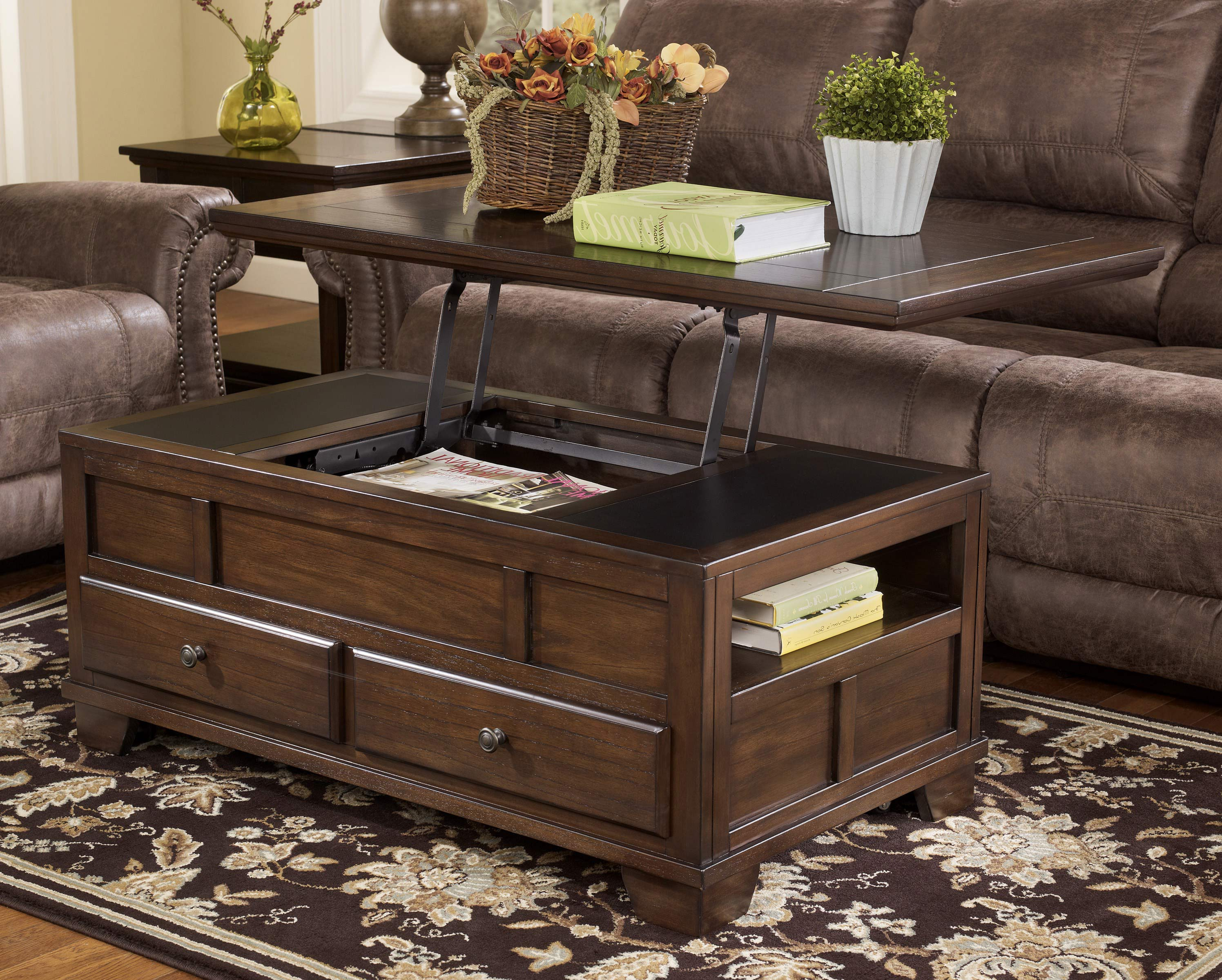 lift top coffee tables with storage 24