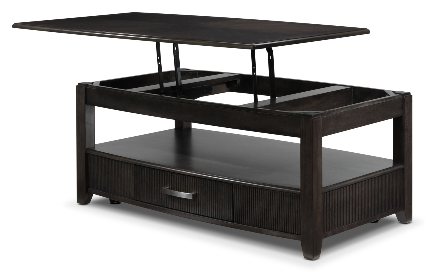 Lift top coffee tables with storage roy home design Black lift top coffee tables