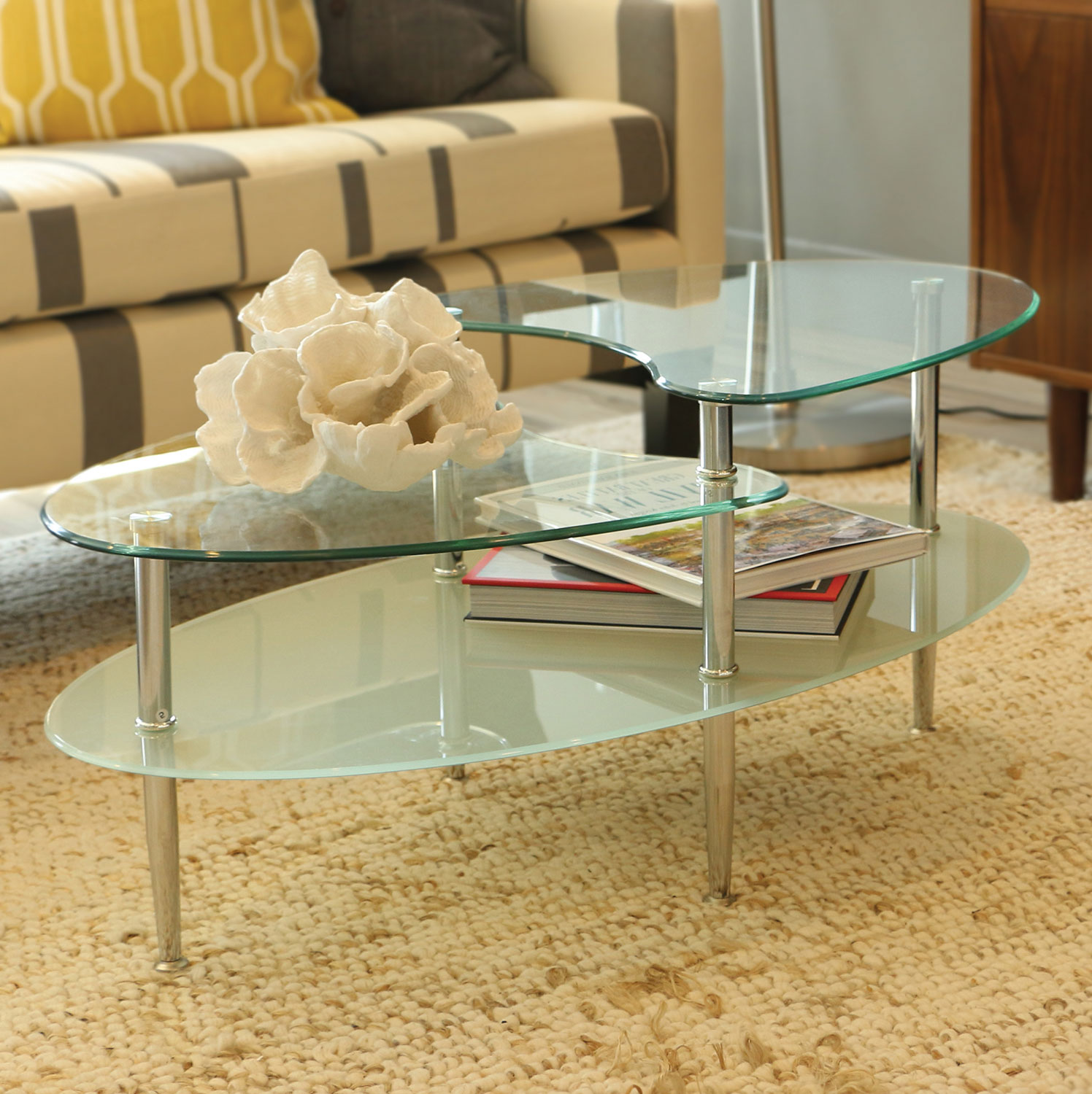 oval coffee table sets 07