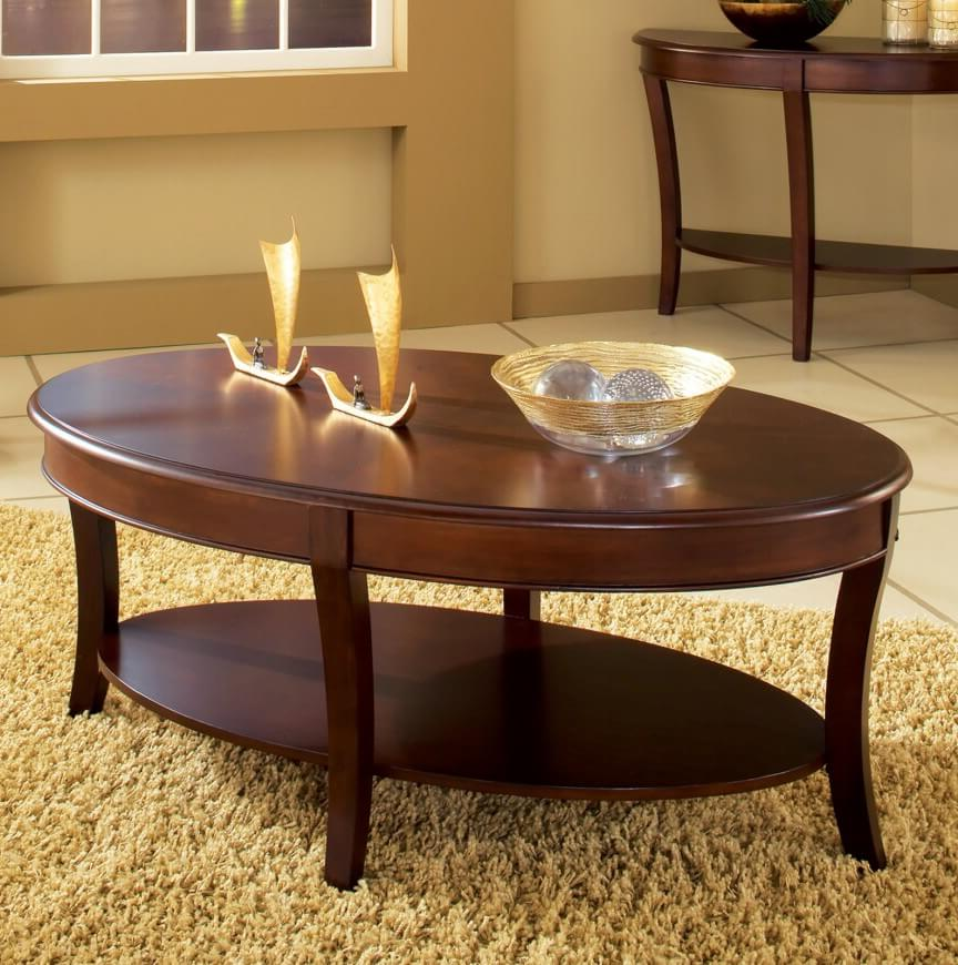oval coffee table sets 23
