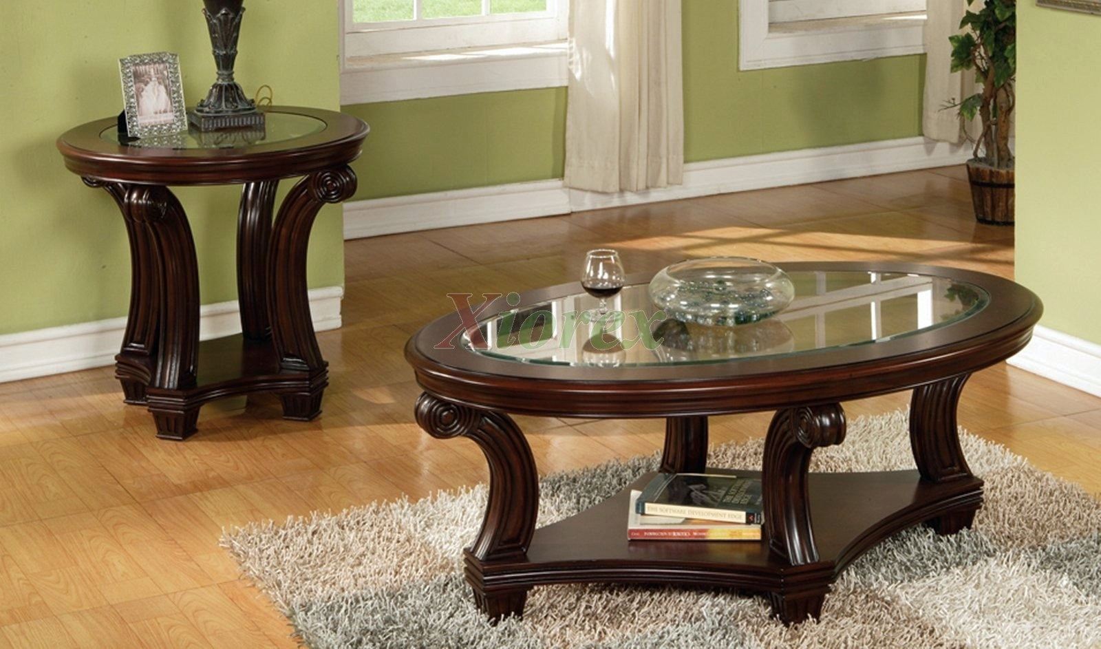oval coffee table sets 26