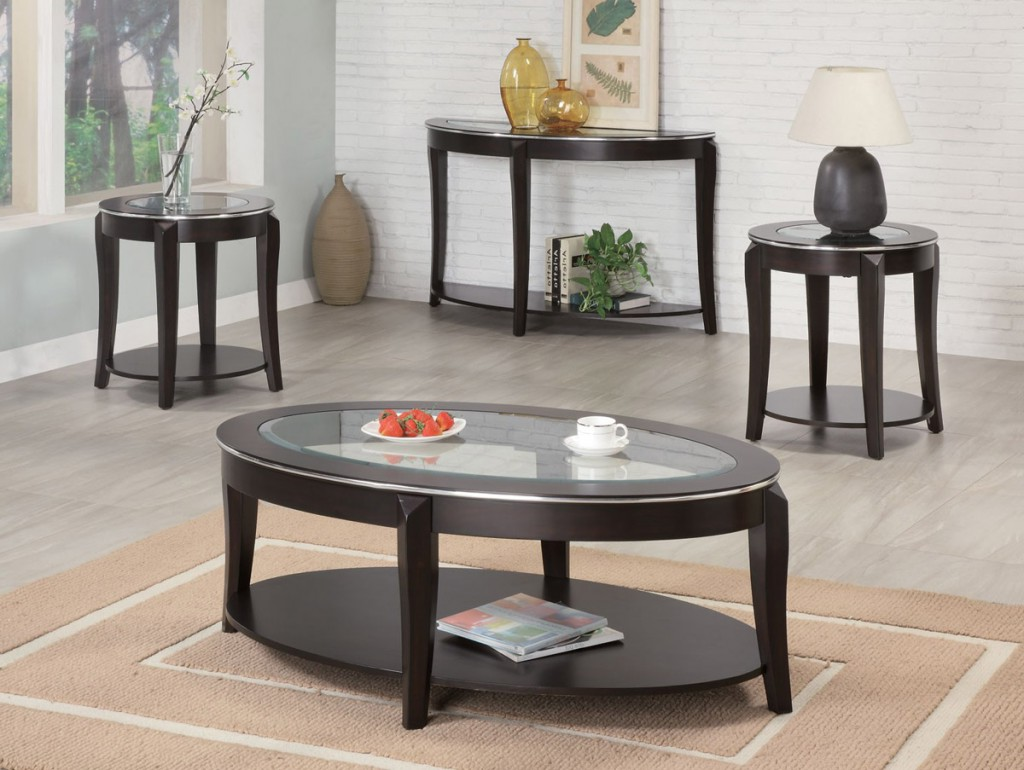 oval coffee table sets 29