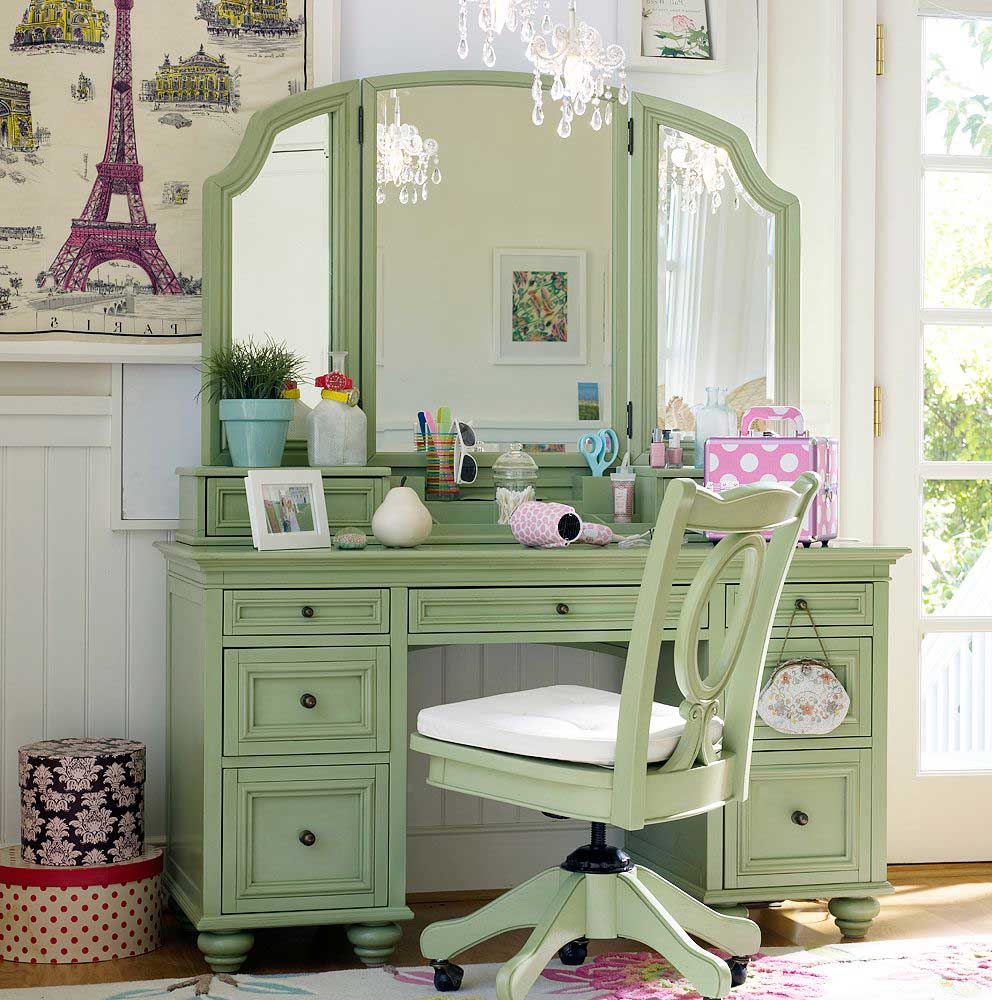 pottery barn vanity chair 01