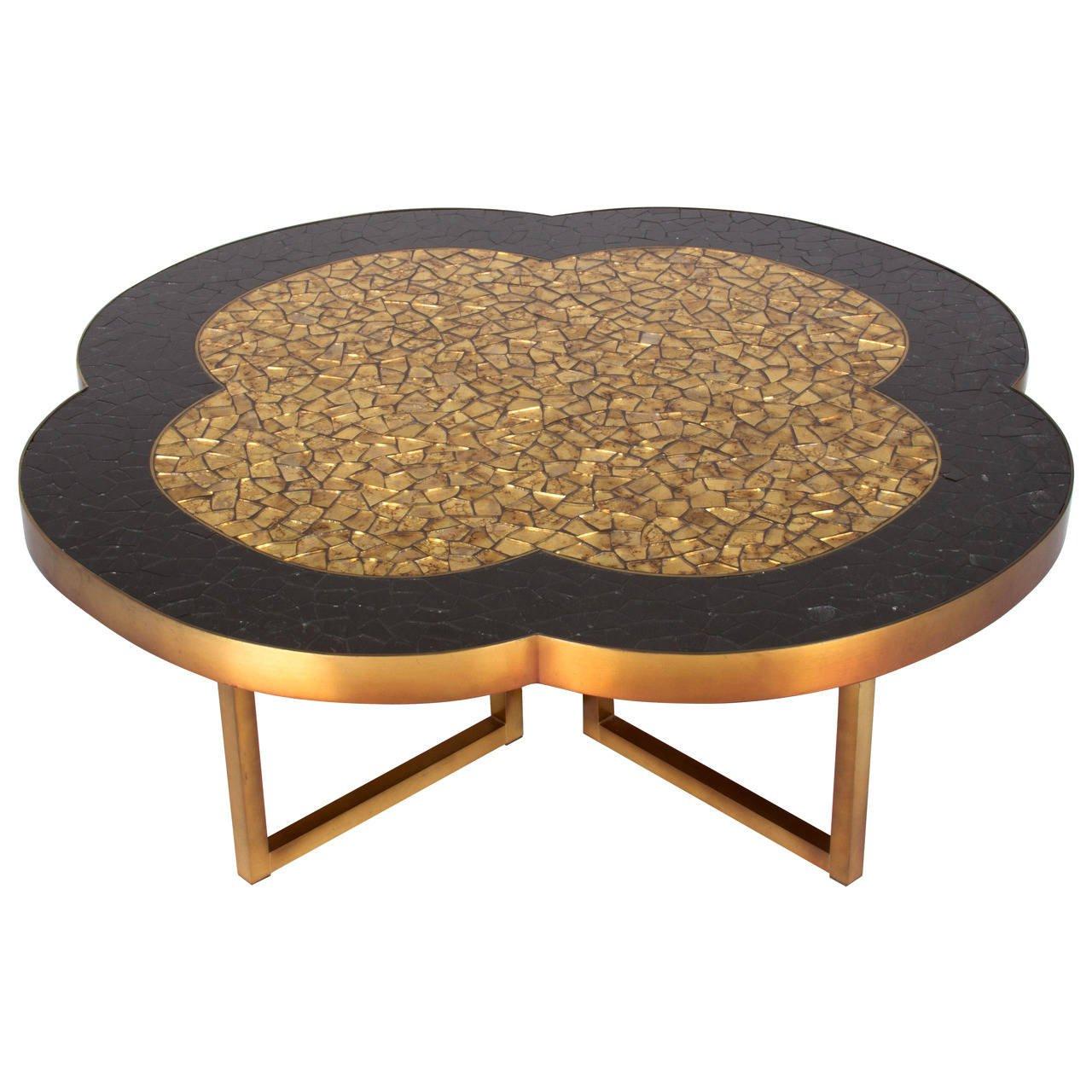 quatrefoil coffee table 11