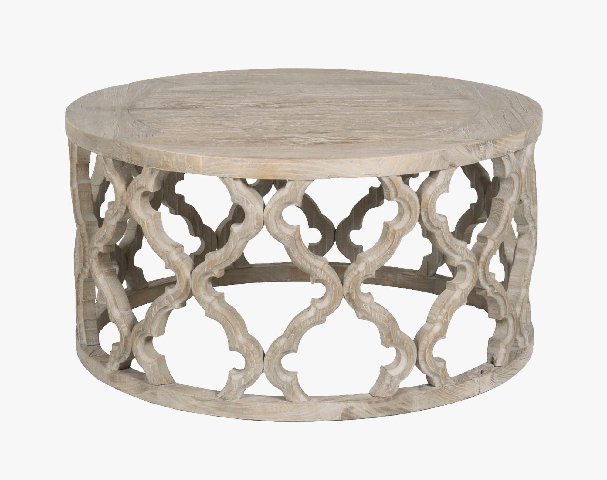 quatrefoil coffee table 14