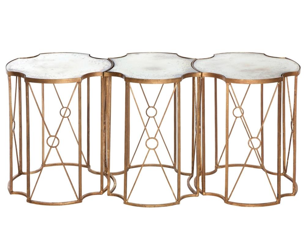 quatrefoil coffee table 16