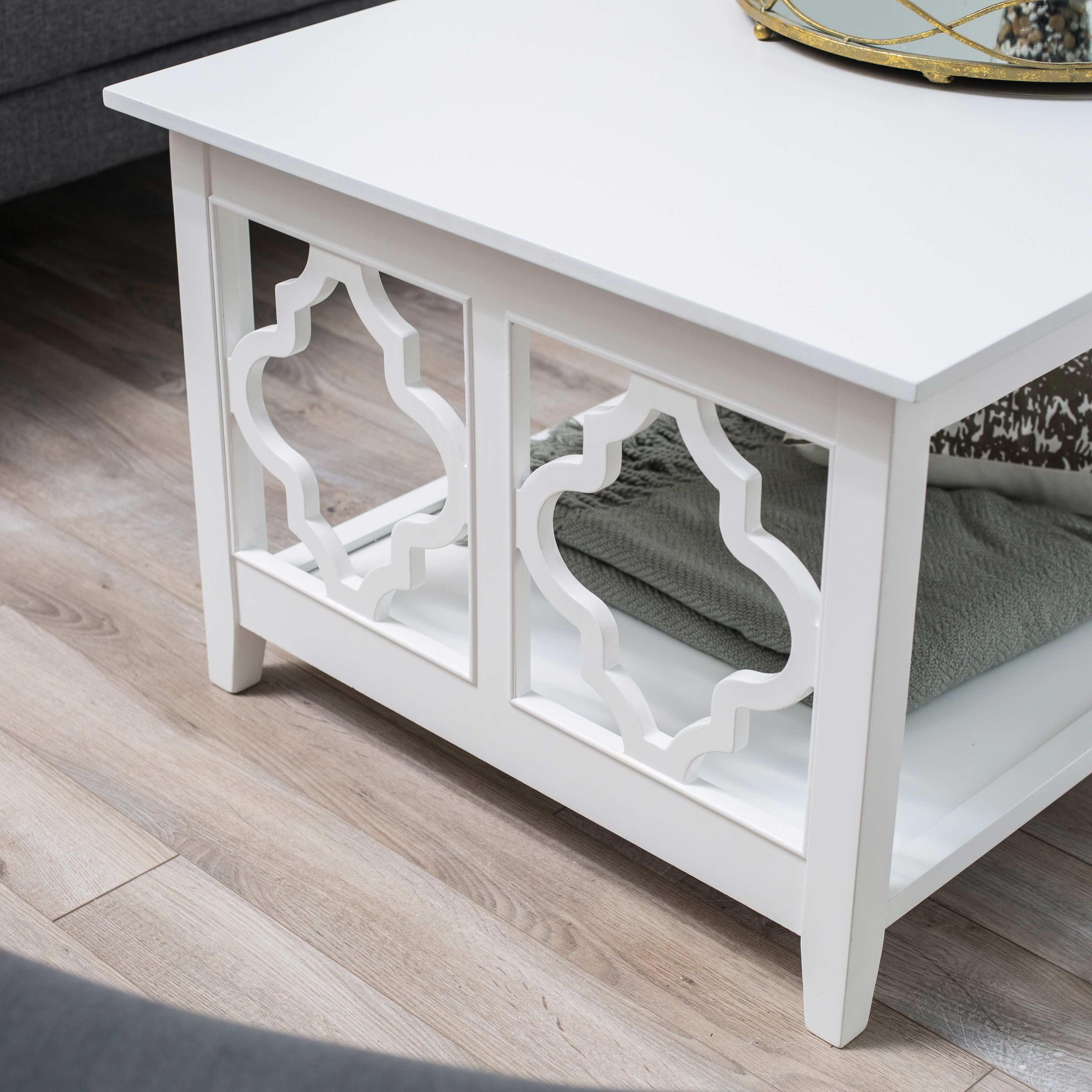 quatrefoil coffee table 25