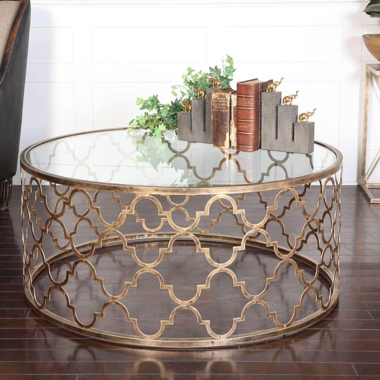 quatrefoil coffee table 33