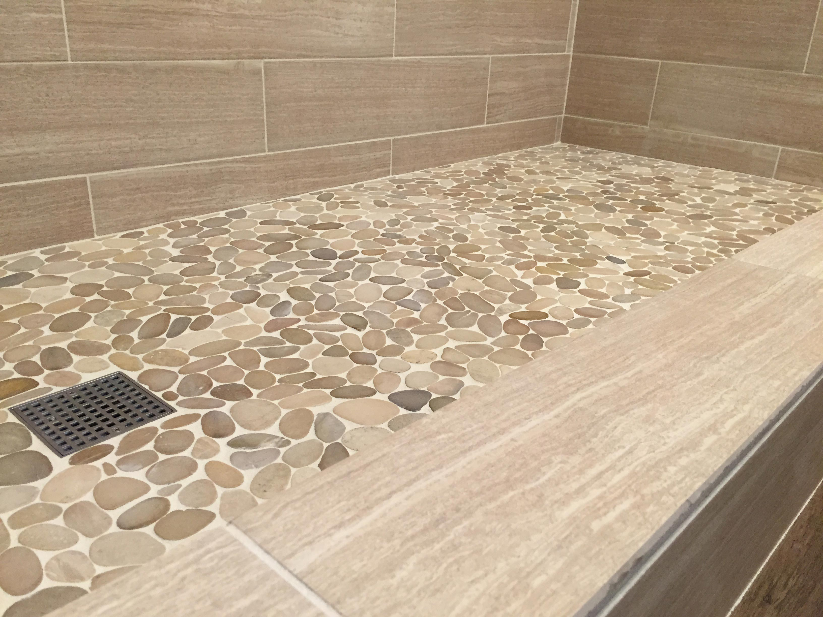 riverstone shower floor 24