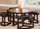 round coffee table with seats 08