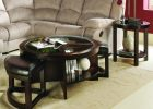round coffee table with seats 10