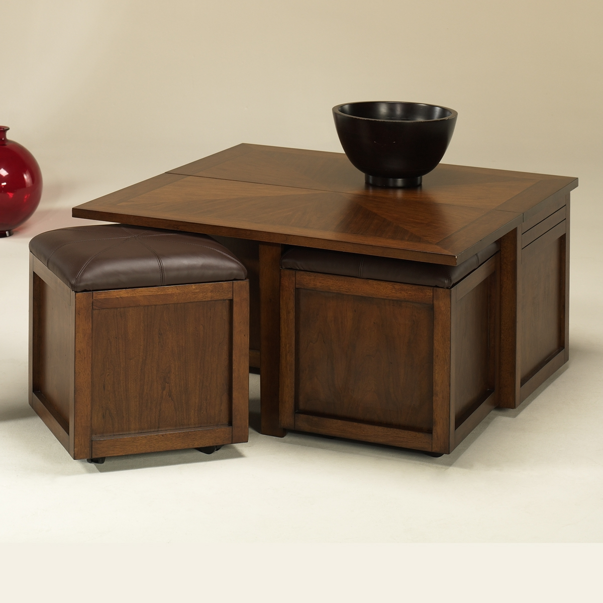 round coffee table with seats 11