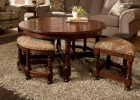 round coffee table with seats 16