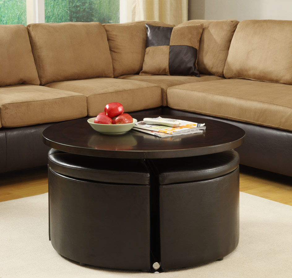 round coffee table with seats 21