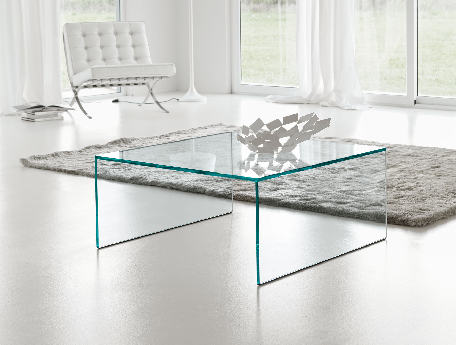 Square Acrylic Coffee Table Roy Home Design