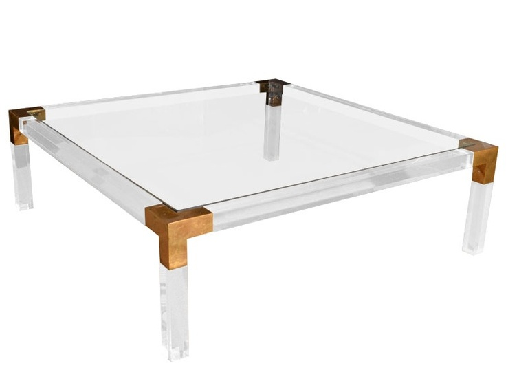 square acrylic coffee table 10