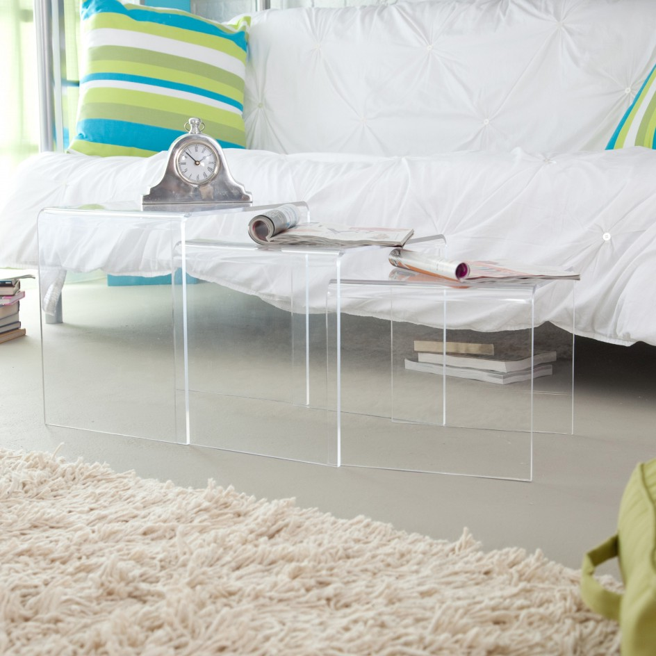 square acrylic coffee table 17