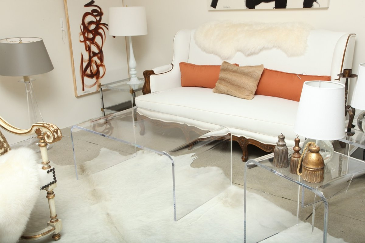 square acrylic coffee table 22