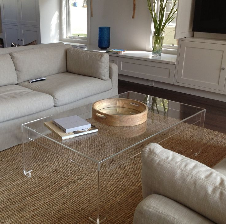 square acrylic coffee table 24