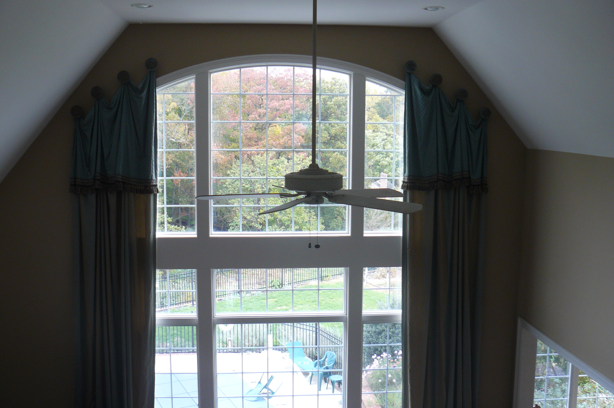 two story window treatments 14