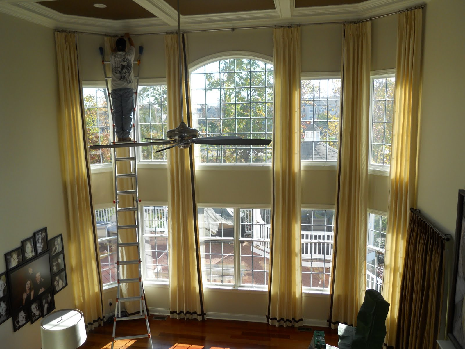 two story window treatments 18