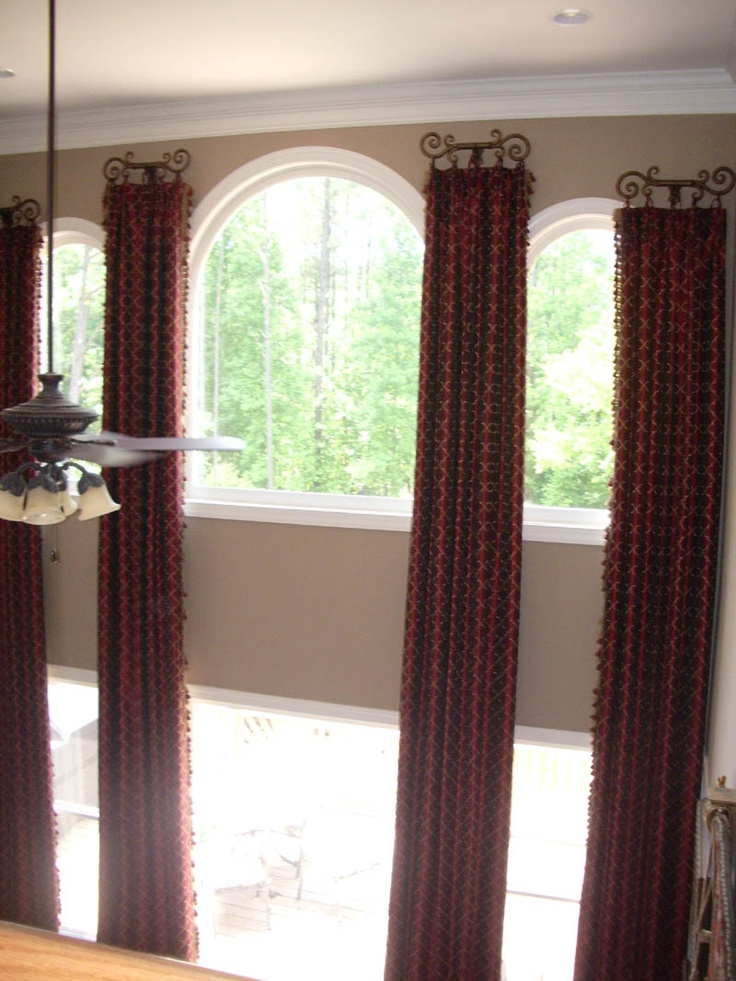 two story window treatments 19