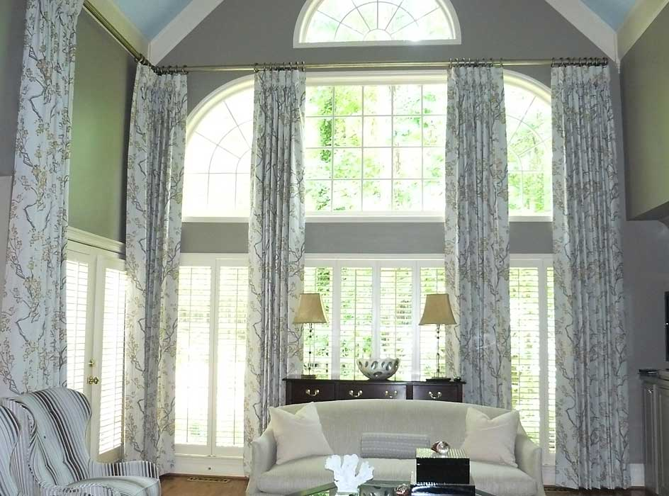 two story window treatments 22