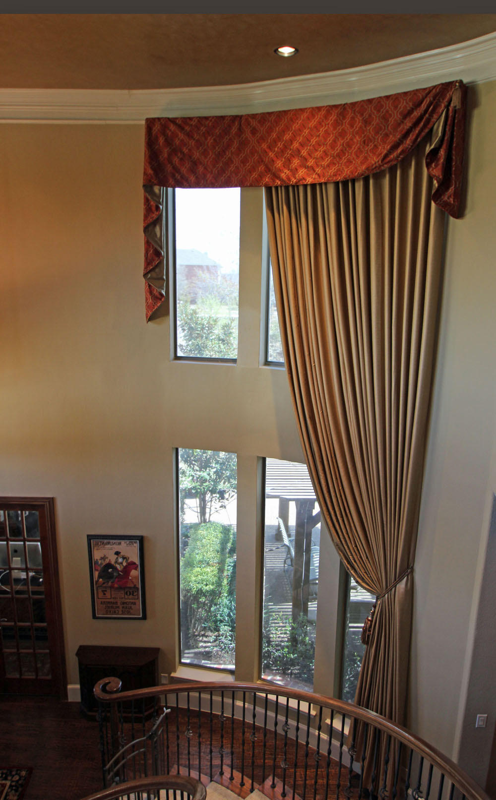 two story window treatments 24