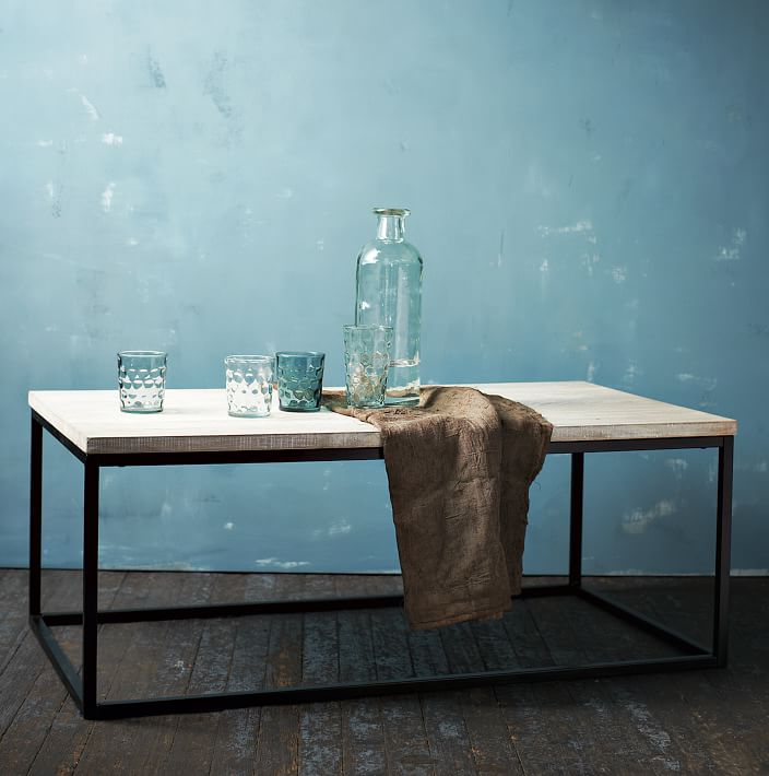 white washed wood coffee table 17