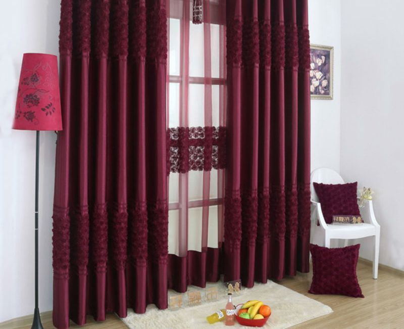 burgundy curtains for living room 04