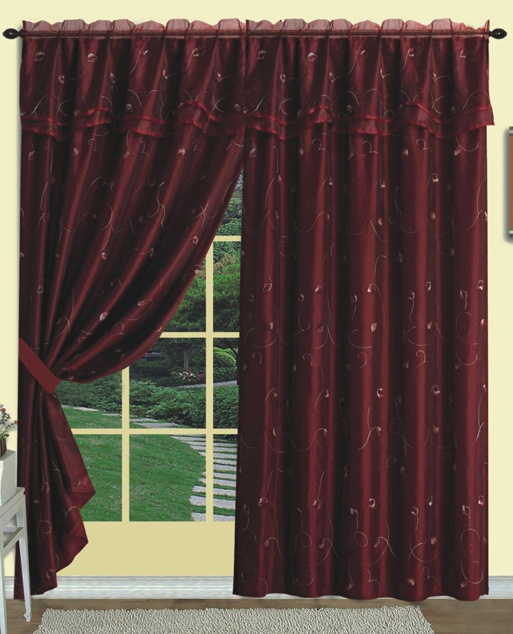 burgundy curtains for living room 05