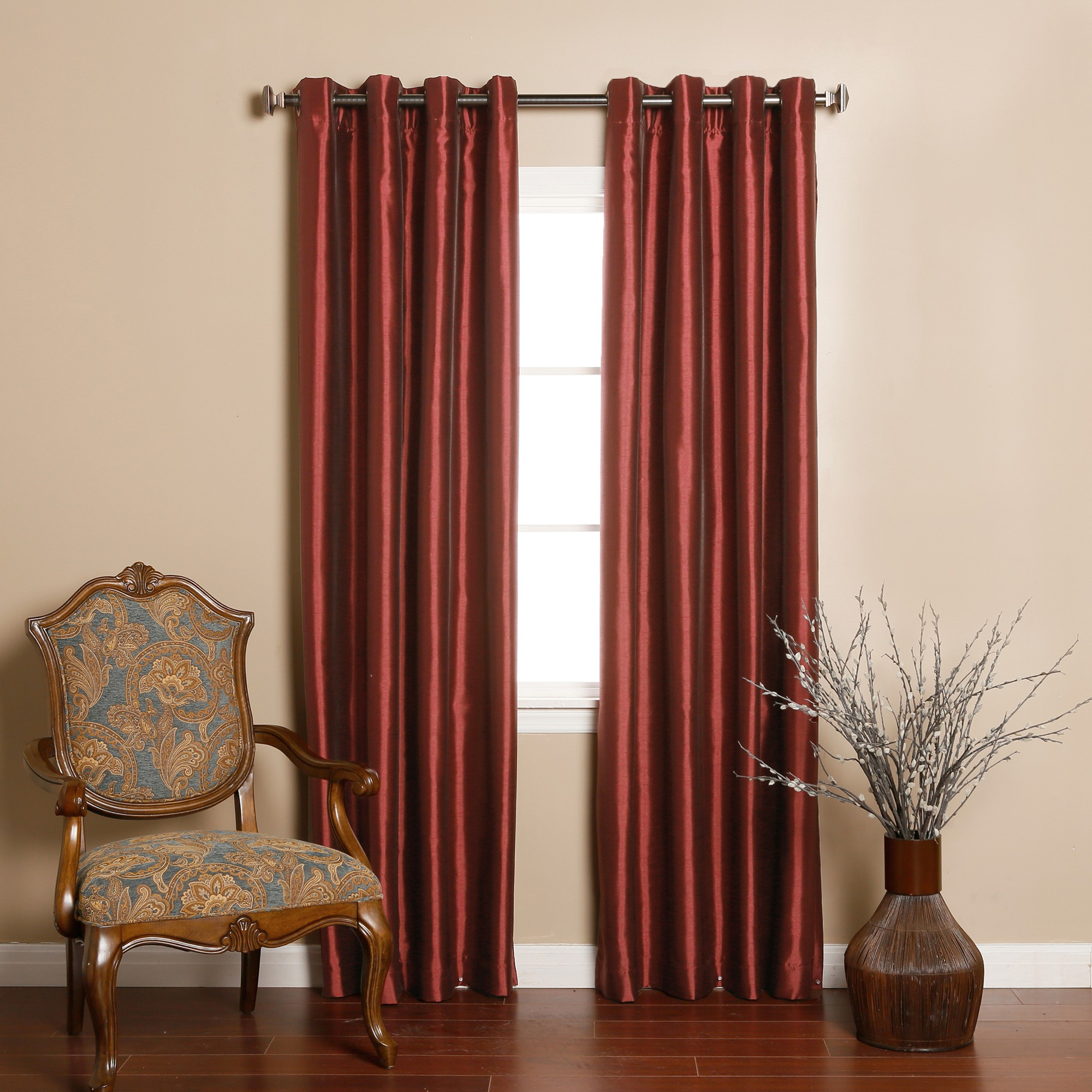 burgundy curtains for living room 09