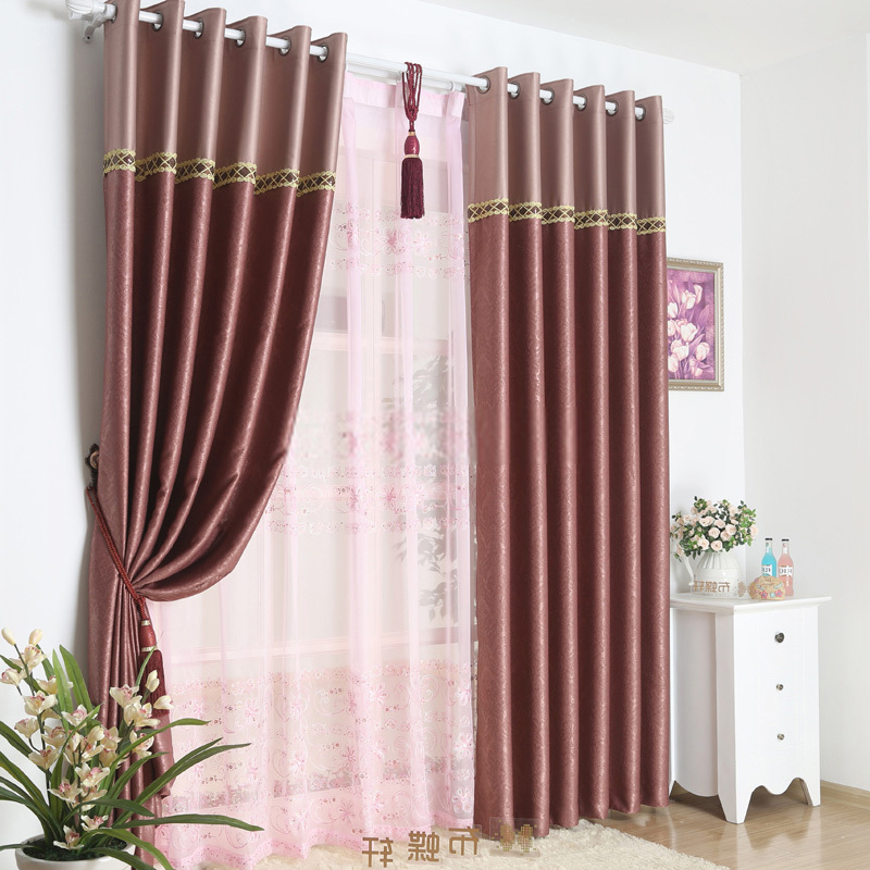 burgundy curtains for living room 16