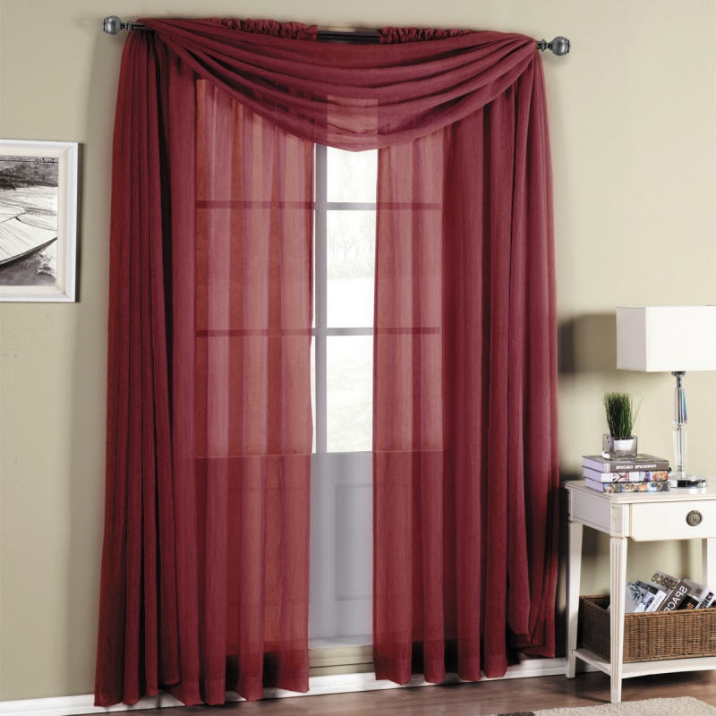 burgundy curtains for living room 22