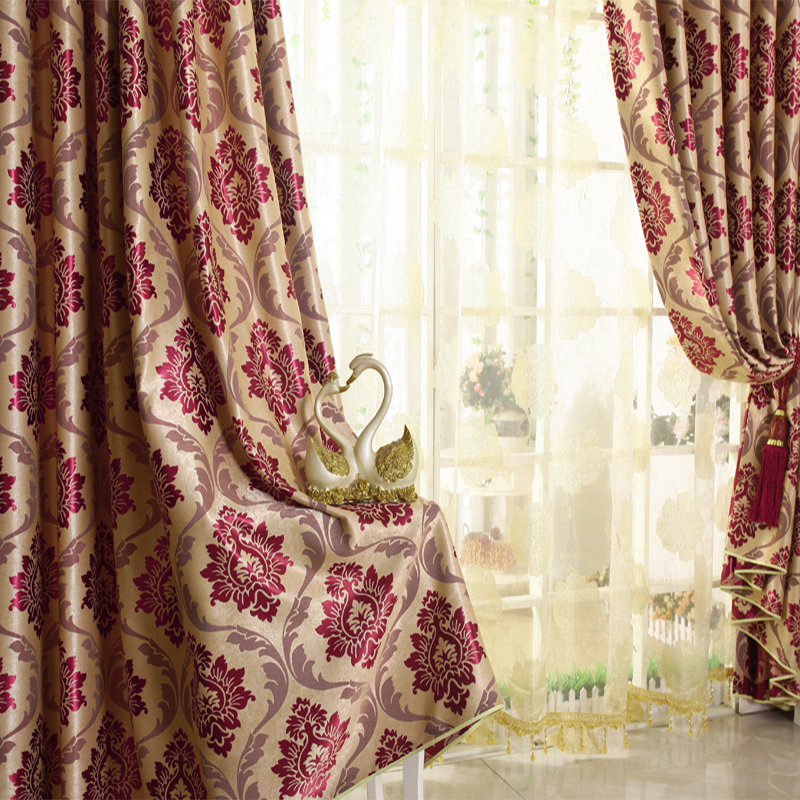 burgundy curtains for living room 27