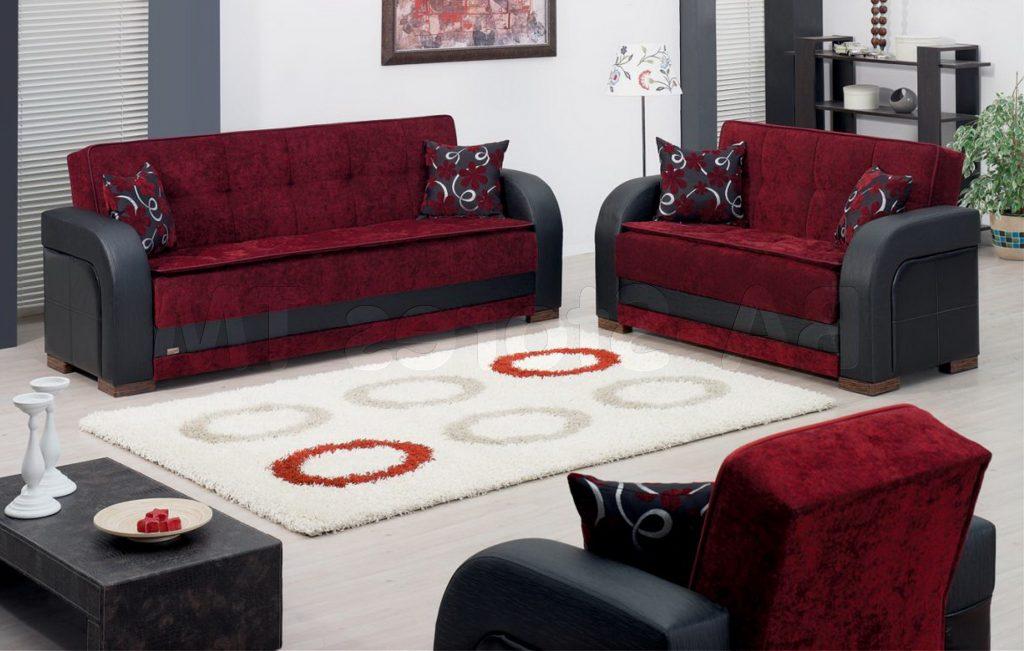 Burgundy Living Room Color Schemes 07