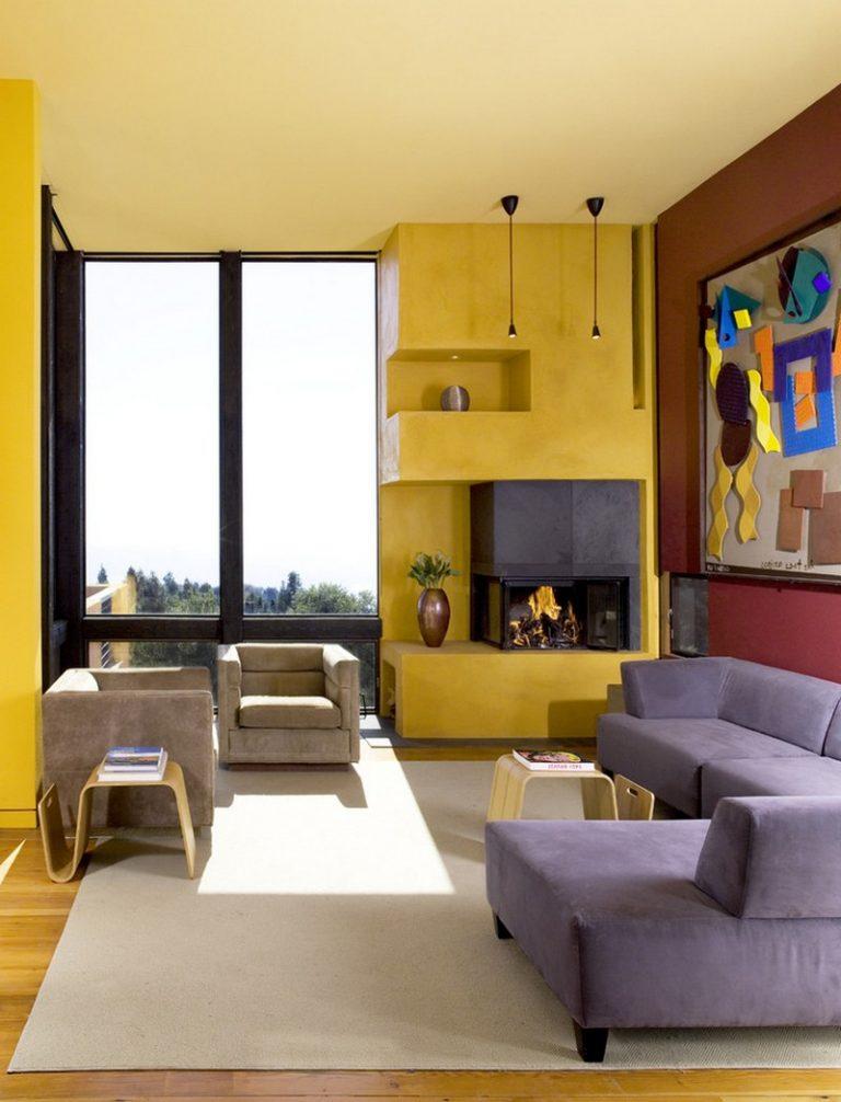 Burgundy Living Room Color Schemes 10